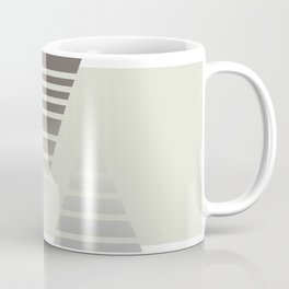 Triangle Halftone Pattern Coffee Mug
