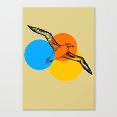 sunset aviary Canvas Print