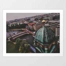 Berlin High View Art Print
