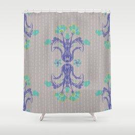 Kantha bouquet 4 Shower Curtain