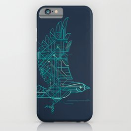 Wind-Up Bird iPhone Case