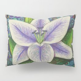 Stargazer Lily in the Lilac Verse Pillow Sham