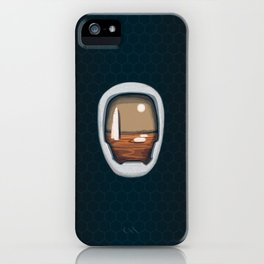 Mars Awaits iPhone Case