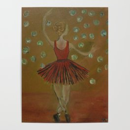Haunting ballerina Poster
