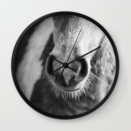 Pony noses are the best noses! Wall Clock