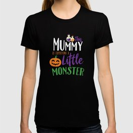 This Mummy is Expecting A Little Monster Halloween T-shirt