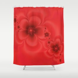 Remembrance Fractal Shower Curtain