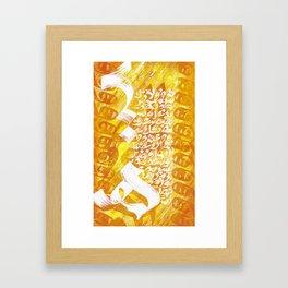 Haa Framed Art Print