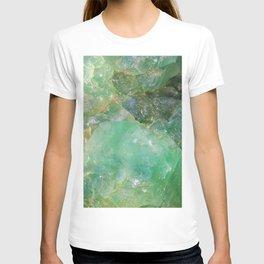 Absinthe Green Quartz Crystal T-shirt