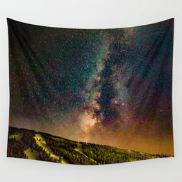Copper Mountain Galaxy // Incredible Photograph of the Milky Way Stars and Cosmic Dust Wall Tapestry