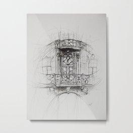 uu Metal Print