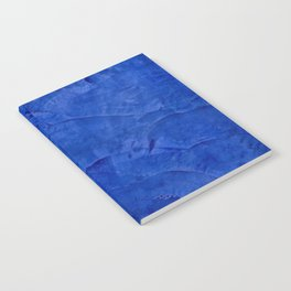 Dark Blue Ombre Burnished Stucco - Faux Finishes - Venetian Plaster Notebook