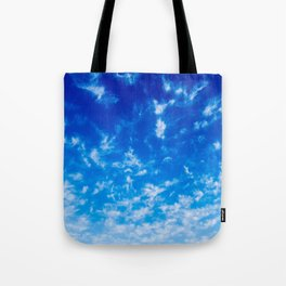 Whispy Clouds Tote Bag