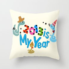 2013 is my Year Throw Pillow