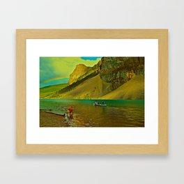 Golden Voyage Framed Art Print