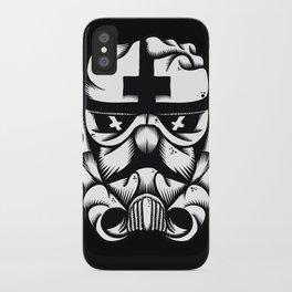 Satanic Trooper iPhone Case