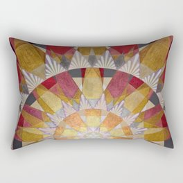Triangle Explosion Rectangular Pillow