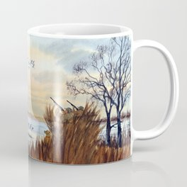 Duck Hunting Season Begins For The Canvasback Coffee Mug