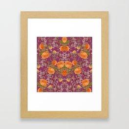 Vibrant Botanic Framed Art Print