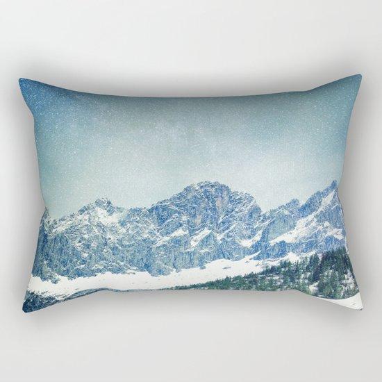 Snow Mountain V3 #society6 #buyart #decor Rectangular Pillow