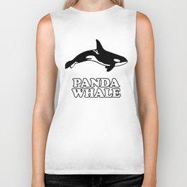 Panda Whale Biker Tank