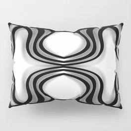 Nobel Squiggly Lines Pillow Sham