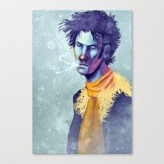 Face of a Killer Canvas Print