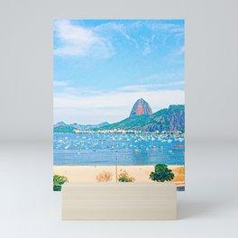Rio de Janeiro - Pão de Açúcar - Art Mini Art Print