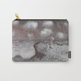 Cliff Walk at Pourville (after Monet) Carry-All Pouch