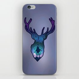 POTTER - PATRONUS ARTISTIC PAINT iPhone Skin