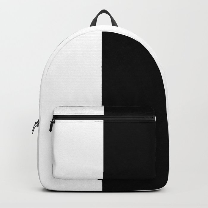 White and Black 32 Backpack