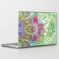 workout Laptop & iPad Skins featuring Abstract 1 by Aaron Carberry