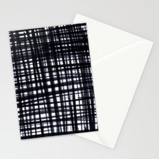 Brushed Check Stationery Cards