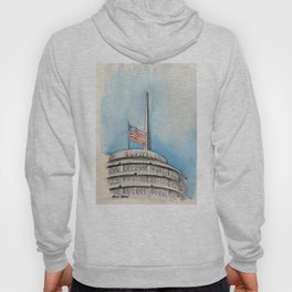 Capitol Records Building Hoody