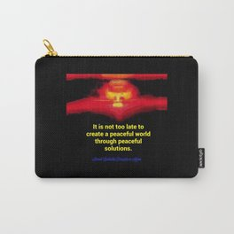 A Peaceful World Carry-All Pouch