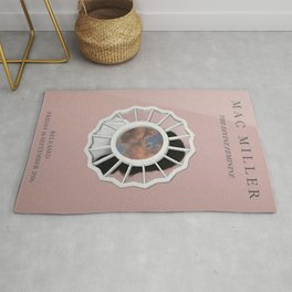Mac Miller, Devine Feminine Album Print, Music Print, A5 A4 A3 Unframed Indie Rock Art, Home Decor, Custom  Rug