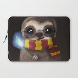Hairy Potter Sloth Laptop Sleeve