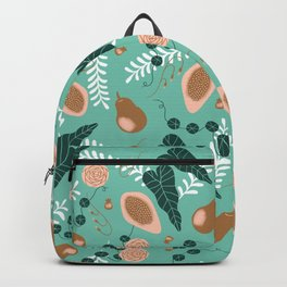 Pears, Guava and Leaves Backpack