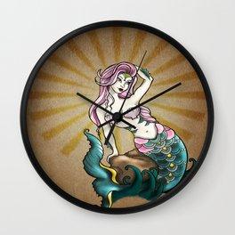 """""""MERMAID""""  Wall Clock"""