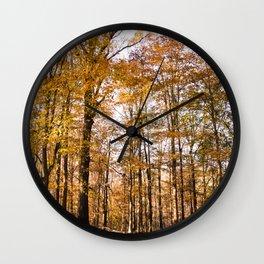 North Georgia Fall Colors Wall Clock
