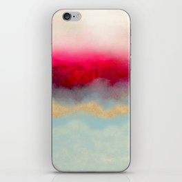 Gold Path iPhone Skin