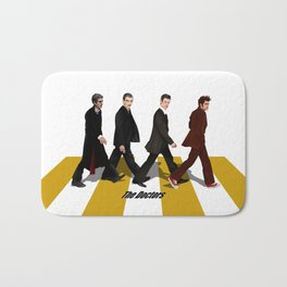 The Doctor who at abbey road iPhone 4 4s 5 5c 6 7, pillow case, mugs and tshirt Bath Mat