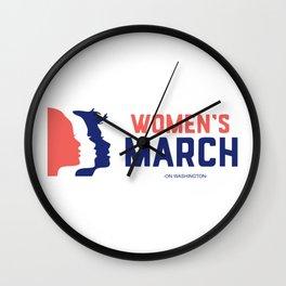 Women March On Washington 2017 Official Wall Clock