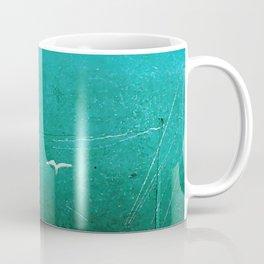 Emerald seagulls Coffee Mug