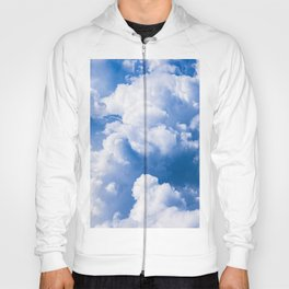 Stormy Clouds Pattern Hoody