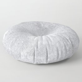 Abstract silver paper Floor Pillow