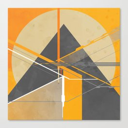 Pyramid Gyza Canvas Print
