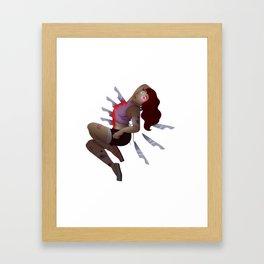 Stabbing Pain Framed Art Print
