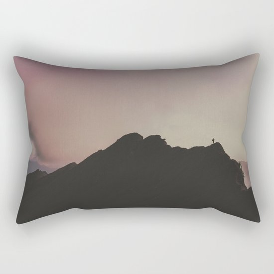 Ring of Sunsets - landscape photography Rectangular Pillow