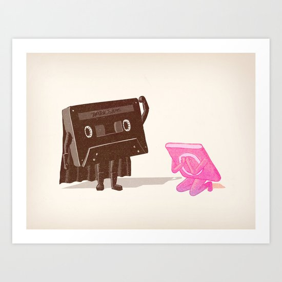 I'm your father... Art Print